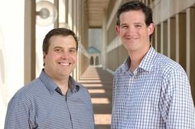 Cloze - whose co-founders are Dan Foody, left, and Alex Cote - offers an  app that automatically prioritizes the most important emails and social  posts for users.
