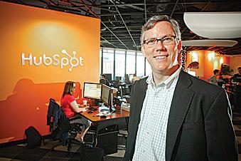 Brian Halligan, CEO and co-founder of HubSpot, said the company found a number of advantages in launching on the East Coast.
