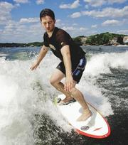 InsightSquared, Cambridge. Offers: Business intelligence software for small and medium-sized businesses. Seed investment: Feb. 2011. Series A: May 2012, $4.5 million. The latest: Reported tripling its customer base in 2012. Pictured: CEO and co-founder Fred Shilmover (wake-surfing).