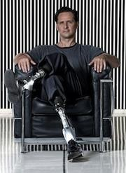 """iWalk, Bedford, maker of """"personal bionics"""" products. Deal: $17 million led byGilde Healthcare Partners and including General Catalyst Partners, Sigma Partners and WFD Ventures.Full story here. (Pictured:iWalk founder and CTO is Hugh Herr.)"""
