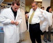Gov. Deval Patrick (right) makes $140,535 a year.