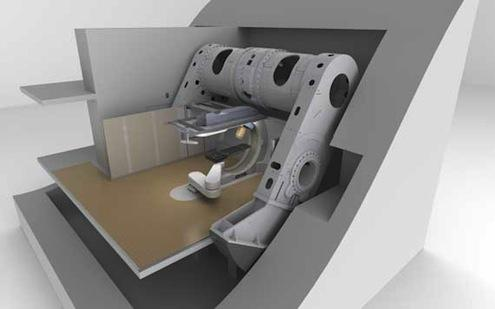 Mevion Medical Systems says its technology could offer a safer alternative to conventional X-ray radiation treatments.