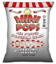 """Mini Pops, of Stoughton, """"is a snack food, which is made of air-popped and seasoned organic sorghum grain. Mini Pops come in a number of flavors while still providing great nutritional benefits. They are made of all natural ingredients and are organic, gluten free and kosher certified."""""""