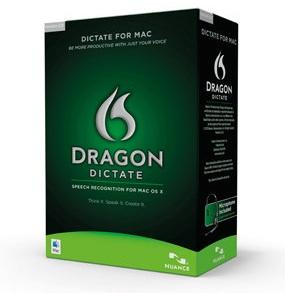 Dragon Dictate, one of the products in Nuance Communications' Dragon Naturally Speaking portfolio. The technology is at the heart of a lawsuit v. Goldman Sachs by its Newton, Mass. inventors.