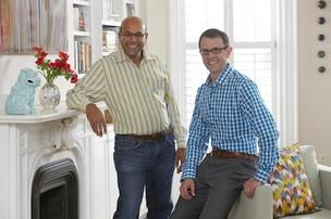Wayfair co-founders Niraj Shah, left, and Steve Conine say the company plans to go public, but there are no plans for the IPO in 2013.
