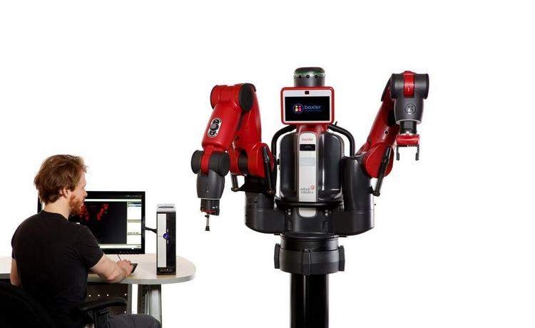 Rethink Robotics has launched a new robot. The Baxter Research Robot is a humanoid robot with two, seven-axis arms, a 360-degree sonar and front camera for sensing applications, sensors and direct programming access.