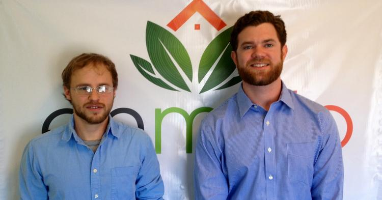 Rob Lawless and Chris Buchanan both left their careers at a  Boston-based energy efficiency firm in 2012 to found Enmojo Inc.