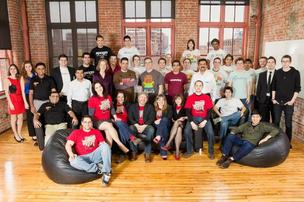 Betaspring is launching its latest accelerator class on Thursday evening. In the last five years, Betaspring has accelerated 72 companies that have raised $25 million in follow-on funding. Pictured is this year's class.