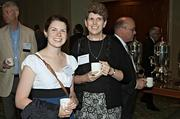 Molly and Patricia Walsh were at the Mass High Tech & Boston Business Journal's 2013 CIO of the Year awards breakfast to support honoree David Walsh of Catholic Charities.