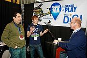 Massachusetts Digital Games Institute (MassDiGI) was represented at the PAX East 2013 game industry show by Monty Shearman, managing director; Adam Roy, lead programmer and Tim Loew, executive director.