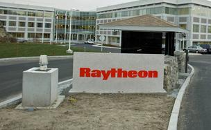 Raytheon Co. stock hit a 52-week high after scoring a $50 million contract with the U.S. Air Force.