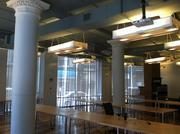 Bolt's upper floor includes desk space for startups, along with conference and meeting rooms. The program plans to serve eight to 10 startups in its inaugural six-month session, which is expected to begin in early July.