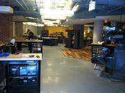 Bolt's 3,000-square-foot shop space, located on the program's lower floor, includes about 40 machines, which cost roughly $1 million altogether. The machines include computer-controlled milling, 3D printers, model-making equipment and soldering.