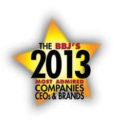Greater Boston's Most Admired Cos., CEOs & Brands