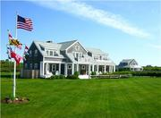 """Nantucket Dreams"" in Siasconset rents for $15,000 per week during the summer. The 3-acre property features a 4,000-square-foot main house and a 1,500-square-foot carriage house. It also comes with a heated pool and enclosed spa."