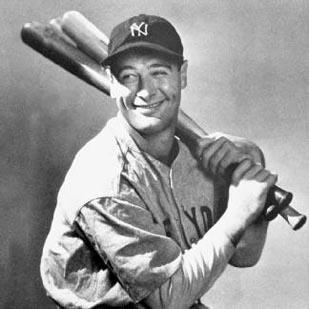 """""""Iron Horse"""" Lou Gehrig, a New York Yankees star of the 1920s and 1930s, was diagnosed with amyotrophic lateral sclerosis in 1936. He died less than two years later."""