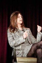 Panelist at the Boston Business Journal's 2012 Pacesetters Awards Breakfast Jill Becker, founder of Cambridge NanoTech.