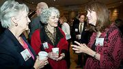 Sharing laughs at the Boston Business Journal's 2012 Pacesetters Awards Breakfast were guests of honoree Pinck & Company Mary Gately, Liz levin and Lauren Larson.