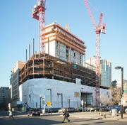 No. 2, CBT Architects. 2011 Mass. architectural billings: $22.5 million. Pictured: Construction at 157 Berkeley St., a new Liberty Mutual office designed by CBT.