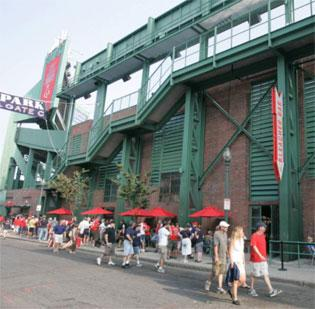 The Bleacher Bar at Fenway Park was one of 15 Lyons Group restaurants cited for pay violations – specifically withholding overtime – that allegedly occurred through an outside contractor. The restaurant operator is compensating 409 employees to the tune of $424,000.