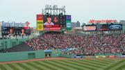 The Red Sox installed new HD video and LED scoreboards in center field, which were unveiled in 2011.