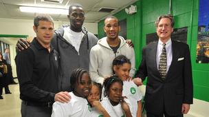 Celtics and Old Mutual at Condon School