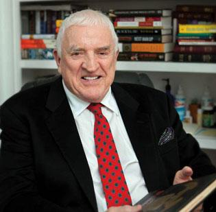 California real estate investor Patrick Cadigan, 77, a BC alum, is donating $27 million to Boston College and BC High.