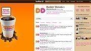 No. 3. Dunkin' Donuts (Dunkin' Brands). @DunkinDonuts. 89,963 followers.