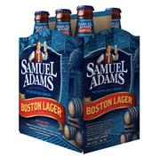 Boston Beer Company's new packaging for Samuel Adams Boston Lager six-packs, which the company is rolling out as sales of the flagship beer disappoint, cannibalized by a growing list of limited-edition and seasonal beers and ciders.