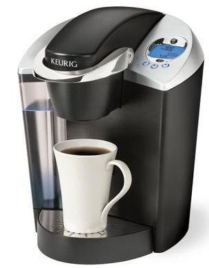 Photo of a Keurig coffee maker.