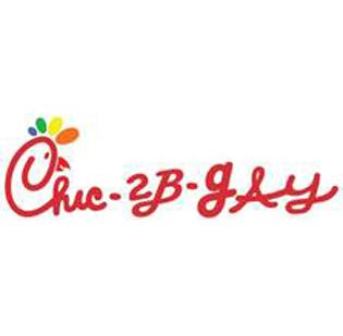 """Dorchester restaurant dbar's """"Chic-2B-gAy"""" logo may look familiar to fans of Chick-fil-A and followers of the controversy surrounding the restaurant's anti-gay stance."""