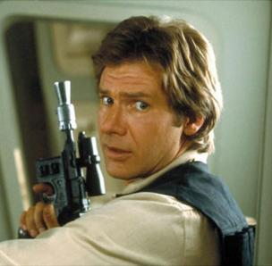 Photo of Han Solo.