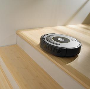 Roomba 600 on stairs