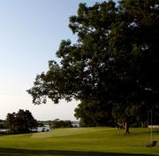 The 28-acre compound includes a three-hole golf course. One of the greens overlooks Town Cove on Tisbury Great Pond.