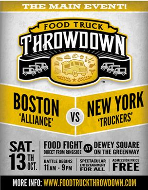 Food Truck Throwdown poster