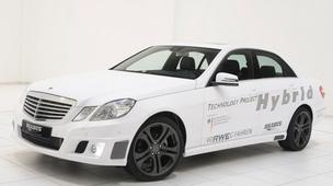 Photo of an electric car based on the Mercedes Benz E-Class.