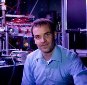 Harvard University physicist Markus Greiner, 38, conducts experiments in controlling the spatial organization of ultra-cold atom. Possible applications include superconductors, quantum computing and high-density information storage. Greiner received a Diplom in 2000 and a Ph.D. in 2003 from Ludwig-Maximilians-Universität in Munich.
