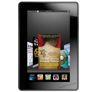 TechCrunch posted this leaked photo of the Amazon Kindle Fire on Monday.
