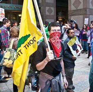 'Occupy Wall Street' plans to revive protests on its anniversary, and targets include Boston companies such as Fidelity Investments, according to a report.