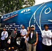 Kids from the Higginson-Lewis K through 8 school in Boston recorded a hip hop video with the help of Avid Technology (Nasdaq: AVID), using the company's 'John Lennon Educational Tour Bus,' a sound- and video-production studio on wheels.