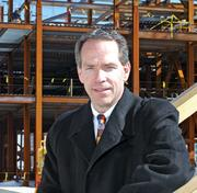 Large business: Suffolk Construction Company. Pictured: CEO and Chairman John Fish.