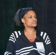 """Harvard University's Lisa Coleman was on the panel at the BBJ""""s Leaders in Diversity event, Friday."""