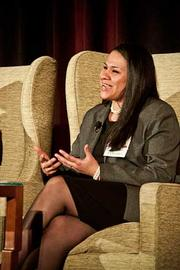 Ive Gonzalez, VP of human resources at Eastern Bank participated in panel discussion at the Boston Business Journal's 2012 Advancing Women program. The topic was Emerging Women Leaders - Challenges and Opportunities.