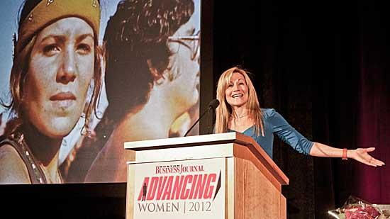 Karen Kaplan at the BBJ's 2012 Advancing Women event. She will be CEO of Hill Holliday, starting Wednesday.