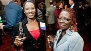 Boston Business Journal Forty Under Forty honoree Nikiki Bogle of Bogle & Chang LLC brought her mother Claudia Higgs-Donovan to the event.