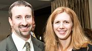 Boston Business Journal Forty Under Forty honoree David J. Dykeman of Greenberg Traurig LLP and his wife Danielle.