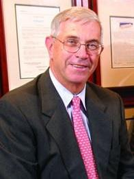 Kevin Landry spent his 45-year career at TA Associates. (Pictured here in 2006.)