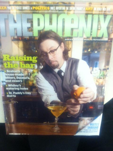 The last edition of the Boston Phoenix. Editor Carly Carioli's farewell blog post ran online the day it hit the streets.