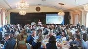 It was a sold out room at the Boston Business Journals 2011 Champions in Healthcare awards breakfast held at the Omni Parker House Hotel.