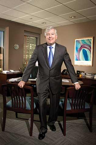 John Donohue, chairman and CEO of Arbella Insurance Group, originally practiced law.